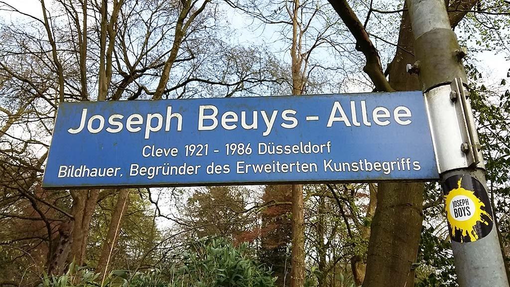 Kleve Joseph Beuys Allee foto Wilma Lankhorst
