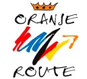 logo Oranjeroute - vakantieroute door Nederland en Duitsland