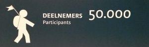 100ste vierdaagse 2016 - 50.000 startbewijzen