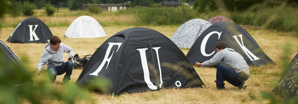 Ai-Weiwei_tenten tijdens Emscherkunst 2016