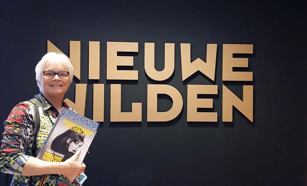 De nieuwe Wilden - Wilma bij entree - Groninger Museum