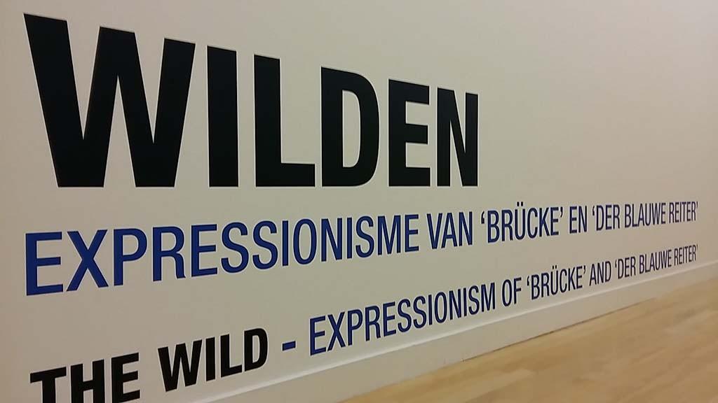 Fundatie Zwolle tentoonstelling de Wilden expressionisme in de schilderkunst foto Wilma Lankhorst
