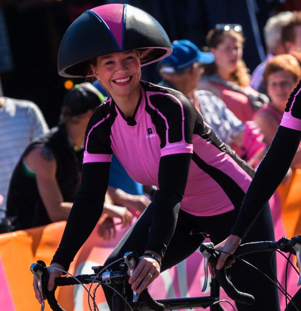 Giro 2016 Nijmegen Hoedenontwerp actie Cappello foto Cappello