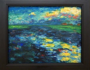 WILDEN Emil Nolde - Binnemeer 1910 coll. Kunsthalle Kiel