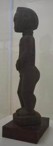 WILDEN anoniem - staande man - Ivoorkust 1900 - coll. Museum de Fundatie
