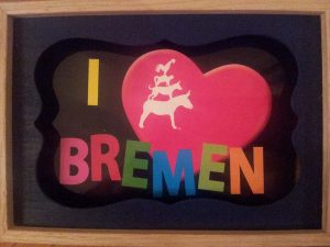 Bremen beleven - Bremen Erleben collage Wilma Lankhorst