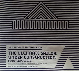 logo the ultimate sailor under construction Scheepvaartmuseum Amsterdam