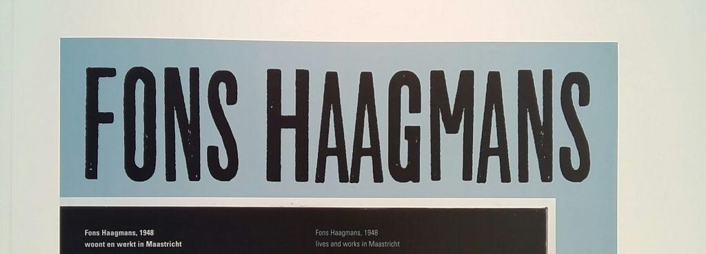 Fons Haagmans zaaltekst Museum het Valkhof foto Wilma Lankhorst