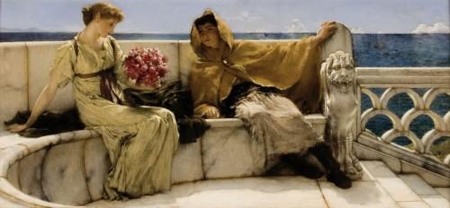 Laurens Alma Tadema Amo te ama me 1881 coll Fries Museum