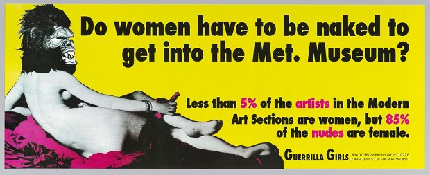 Guerrilla Girls, ML/G 2015/005/24, Museum Ludwig, Köln