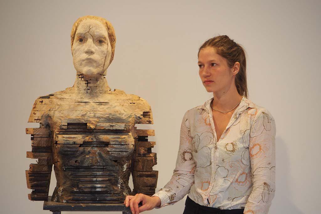 Laura Eckert Zomergast in Bremen met NN16 foto Wilma Lankhorst