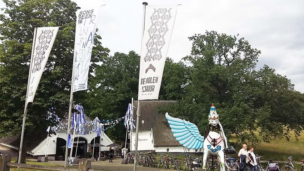 Sonsbeek 16 bezoekerscentrum de Molenplaats foto Wilma Lankhorst