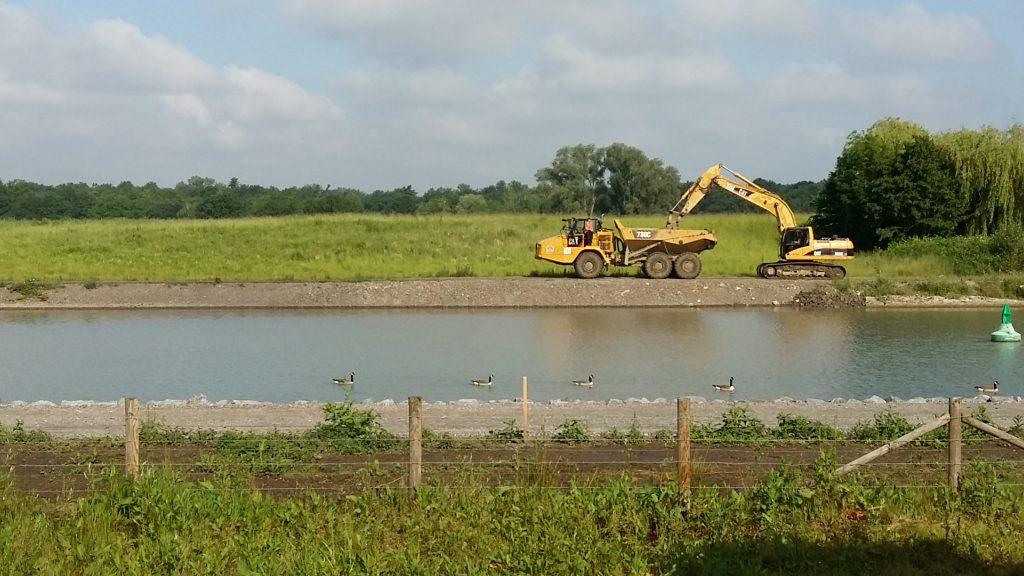 Warten auf den Fluss Rijn Herne kanaal foto Wilma Lankhorst