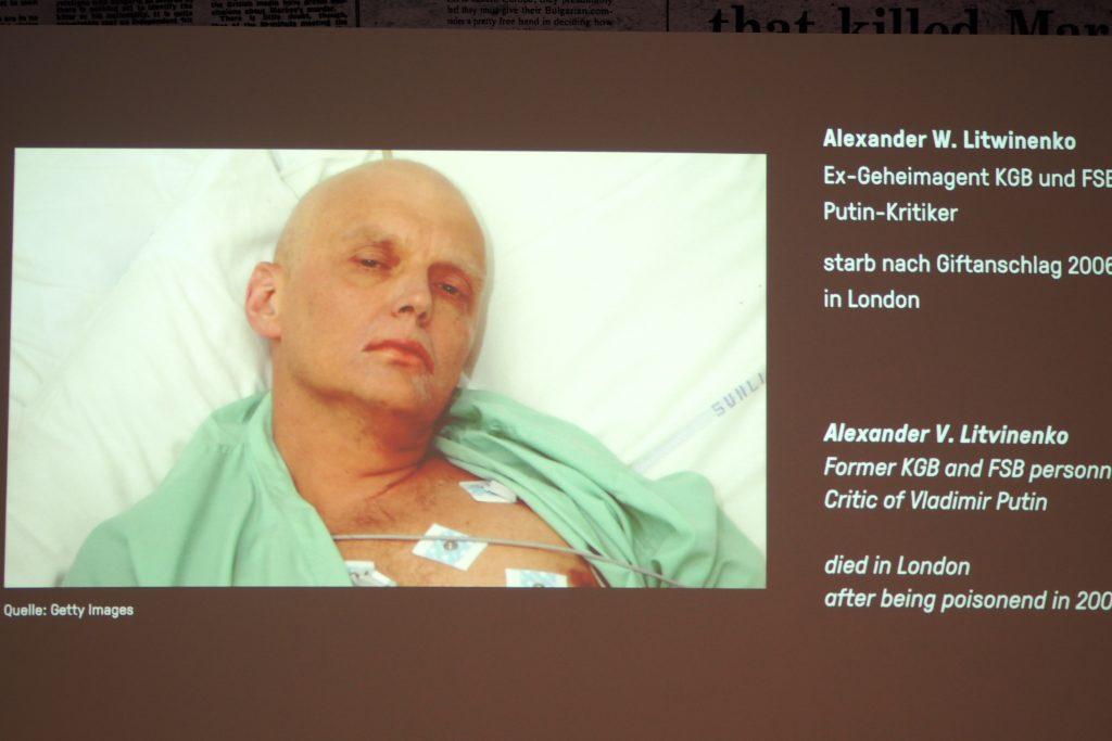 Chemische spionage coll Spy Museum Berlijn foto Wilma Lankhorst