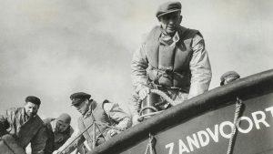 historische opname de reddingsbrigades op zee collectie Scheepvaartmuseum Amsterdam