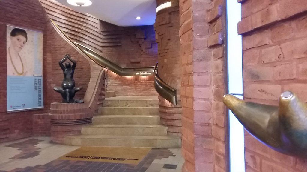 entree Paula Modersohn Becker Museum in Bremen - foto Wilma Lankhorst