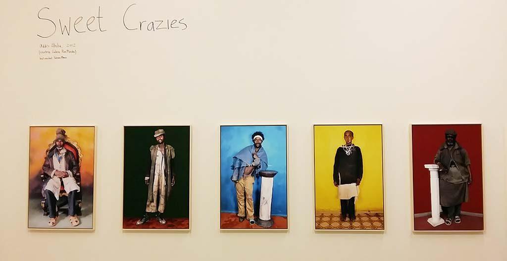Serie 'Sweet crazies' © Jan Hoek in Stedelijk Museum Schiedam foto Wilma Lankhorst