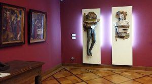 zaal overzicht r. lichaam en geest en geest en lichaam © Laura Eckert Bremen PMB Museum foto Wilma Lankhorst