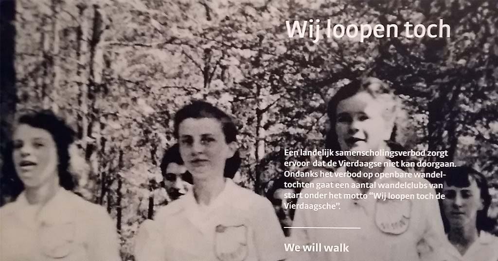 1940 Vrouwen lopen de Vierdaagse - Museum het Valkhof