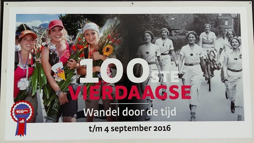 Wandelen door de tijd - 100ste vierdaagse Nijmegen in Museum het Valkhof