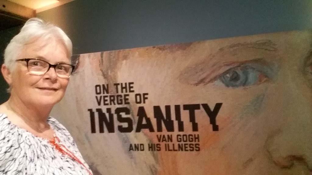 De waanzin nabij, van Gogh's ziekte van Gogh Museum Amsterdam