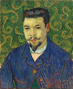 Portret Dr. Félix Rey © Vincent van Gogh 1890 collectie Poeskjin Museum