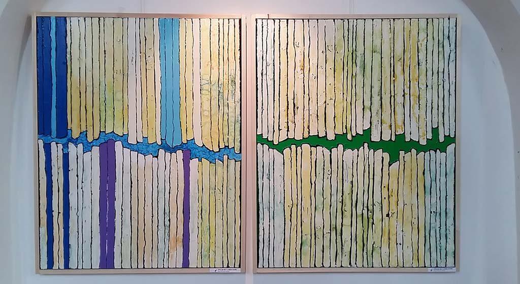 Spel met lijnen 1 en 2 ©JoenJosieDebije - kerkje Persingen foto Wilma Lankhorst