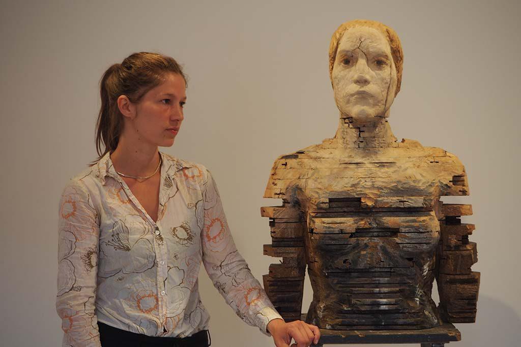 Laura Eckert, zomergast 2016 Paula Modersohn Museum Bremen foto Wilma Lankhorst