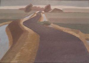 Rein Draijer Polderland (fragment) 1944 - foto Wilma Lankhorst