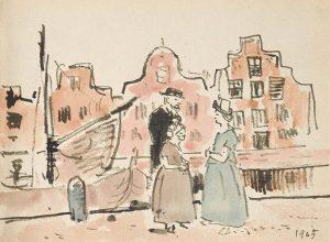 blog-Picasso-in-Holland-briefkaart Tom-Schilperoort-aan-Picasso-foto-Wilma-Lankhorst