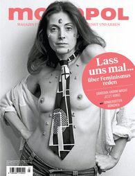 omslag Monopol July 2016 Frauen und Kunst