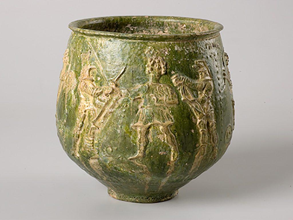 Gladiatorenbeker collectie Museum het Valkhof Nijmegen