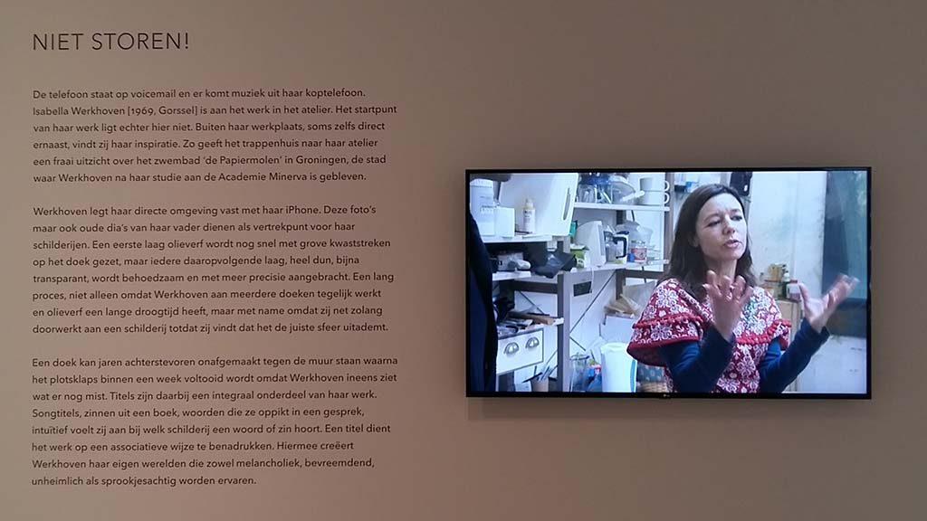 Isabella-Werkhoven-in-Museum-MORE-fragment-uit-AVRO-programma-ArtMen