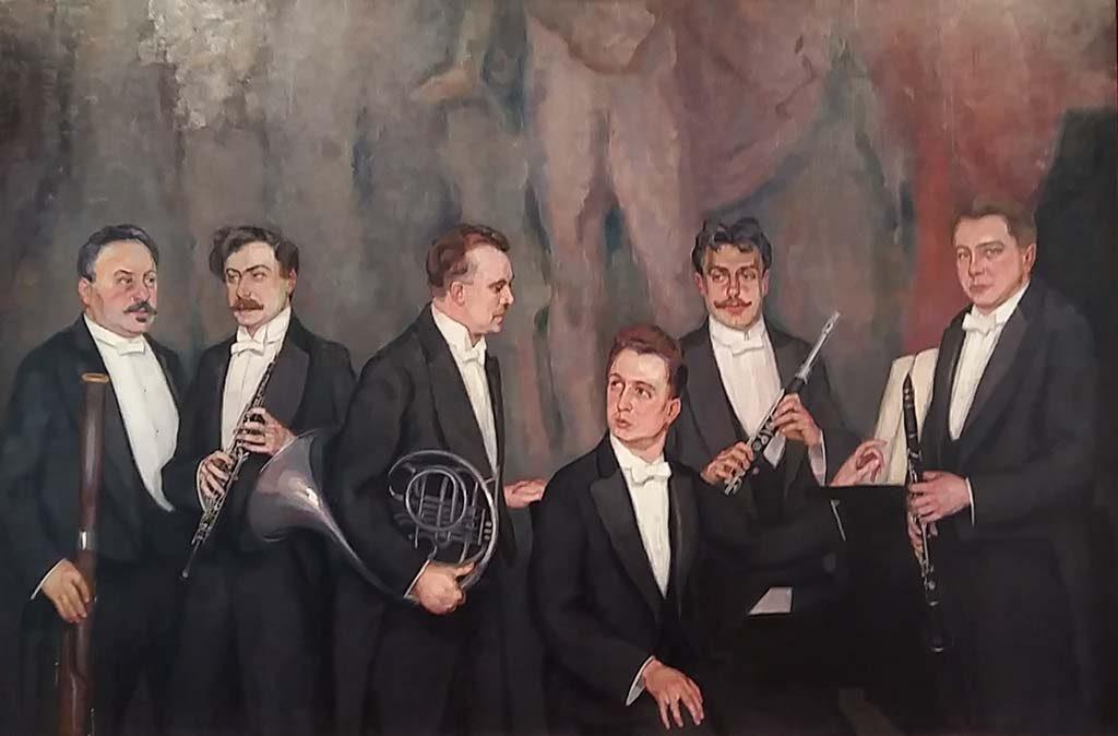 Johan-van-Hell-Blaassextet-1922-collectie-Concertgebouw-Amsterdam-foto-Wilma-Lankhorst