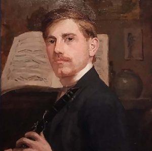 blog-Johan-van-Hell-zelfportret-met-klarinet-1909-collectie-Wijnman-Jacobs-detai