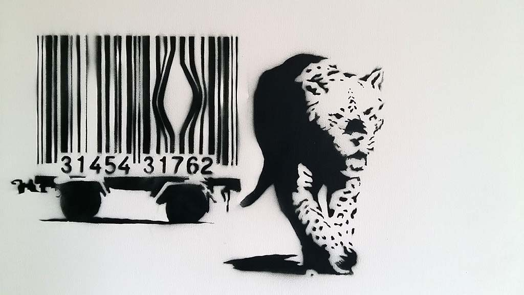 Banksy-Barcode-MOCO-Museum-Amsterdam-foto-Wilma-Lankhors