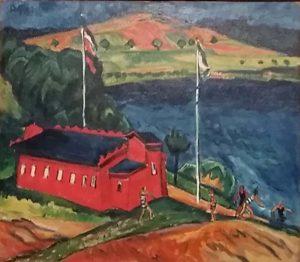 Het-rode-badhuis-1910-Max-Pechstein-Merzbacher-Collectie-foto-Wilma-Lankhorst