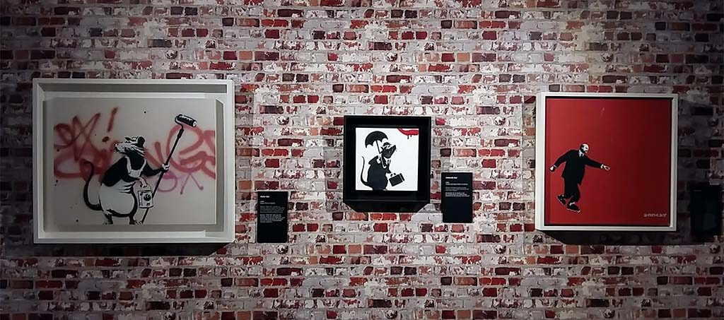 The-art-of-Banksy-Gallery-set-up-beurs-van-Berlage-foto-Wilma-Lankhorst