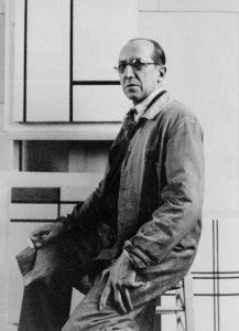 Mondriaan-in-zijn-atelier-aan-de-Rue-du-Depart-in-Parijs-1934.-Collectie-RKD-DH