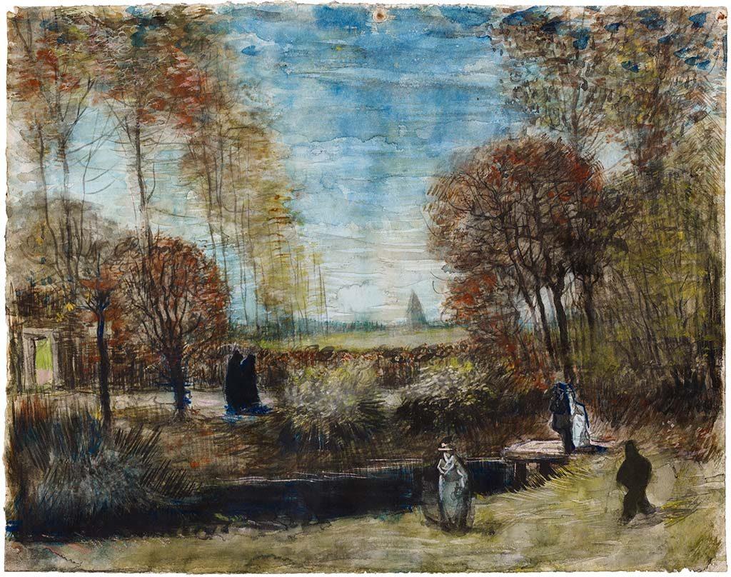 Pastorietuin-in-Nuenen-1885-Vincent-van-Gogh-coll.-Noordbrabantsmuseum