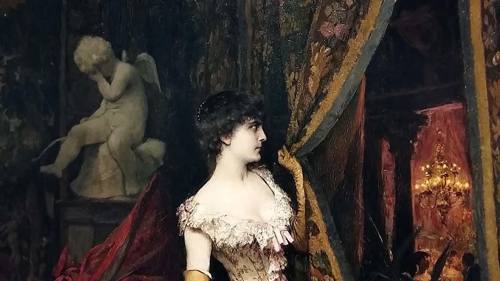 Achter-het-gordijn-3-Jaloesie-1881-Evariste-Carpentier-Belgie-1845-1922-Museum-Kunstpalast-Dusseldorf-foto-Wilma-Lankhorst