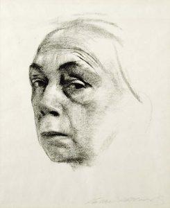Käthe-Kollwitz-zelfportret-1924-coll-KKMK