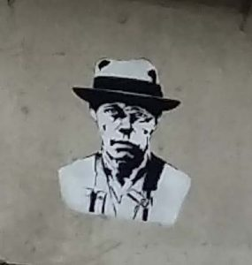 Street-Art-Nijmegen-Fred-de-Imker-Bottendaal-viaduct-bij-Graafseweg-Joseph-Beuys-foto-Wilma-Lankhorst