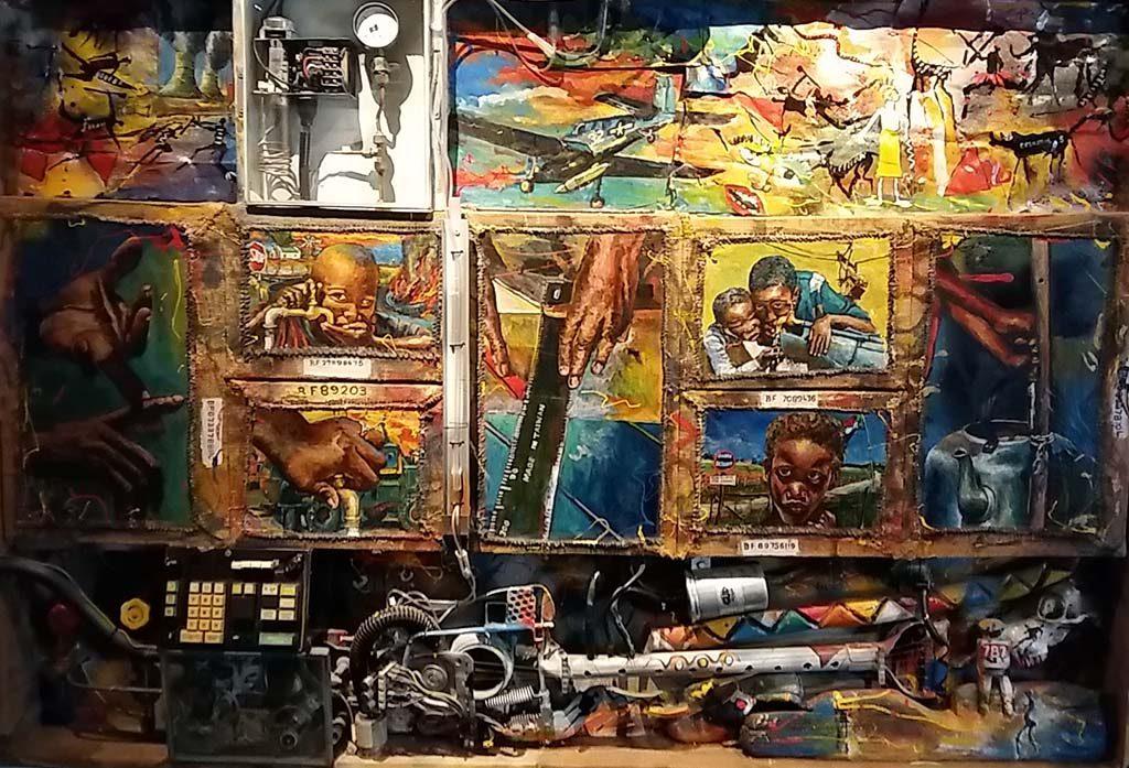 Afrika Museum-Willie-Berster-ZA-1956-Schaarse-bronnen-1996-foto-Wilma-Lankhorst