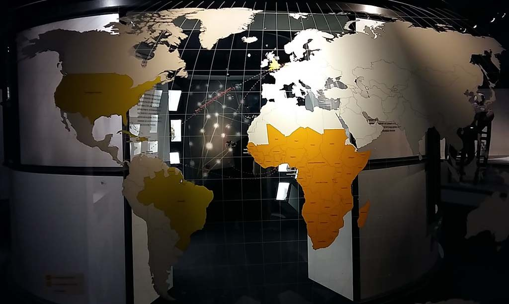 Afrika kaart-Diaspora-Afrika-Museum-foto-Wilma-Lankhorst