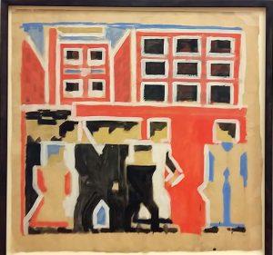 Mondriaan-en-Van-der-Leck-studie-uitgaan-van-de-fabriek-1916-Bart-van-der-Leck-foto-Wilma-Lankhorst