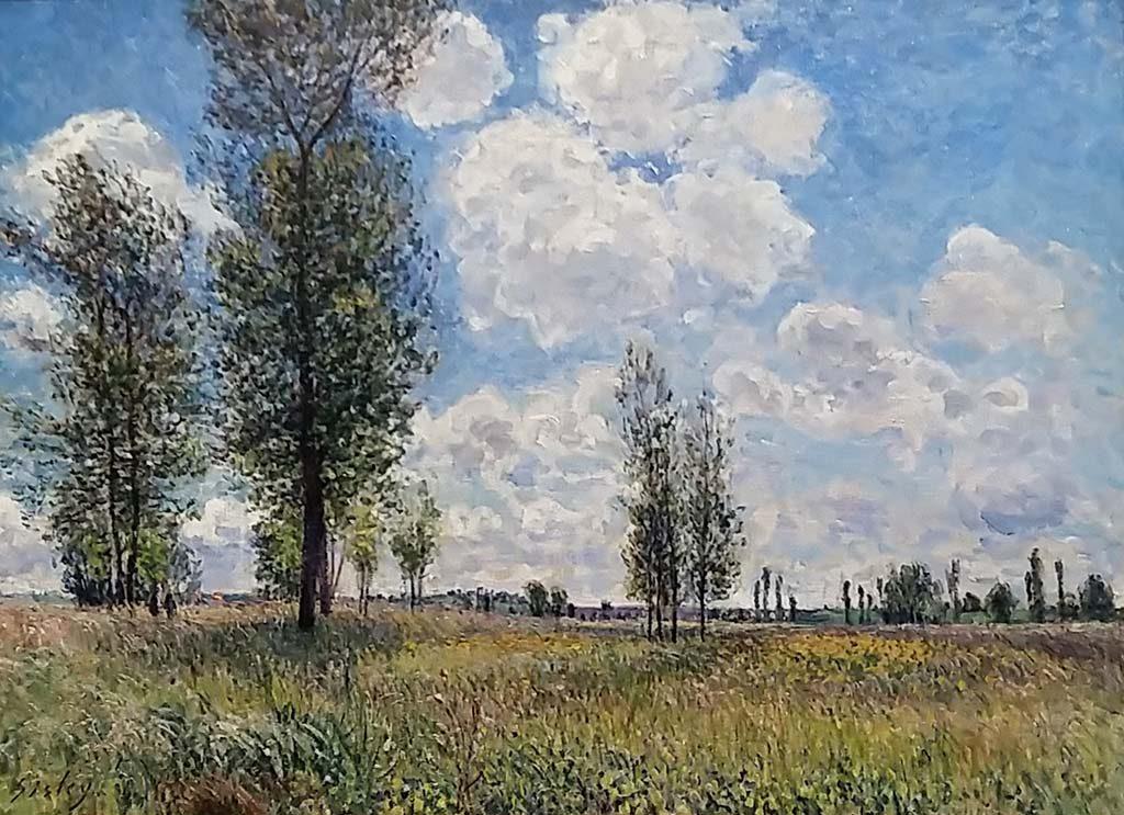 Museum-Barberini-De-velden-van-Veneux-Nadon-1881-Alfred-Sisley-foto-Wilma-Lankhorst