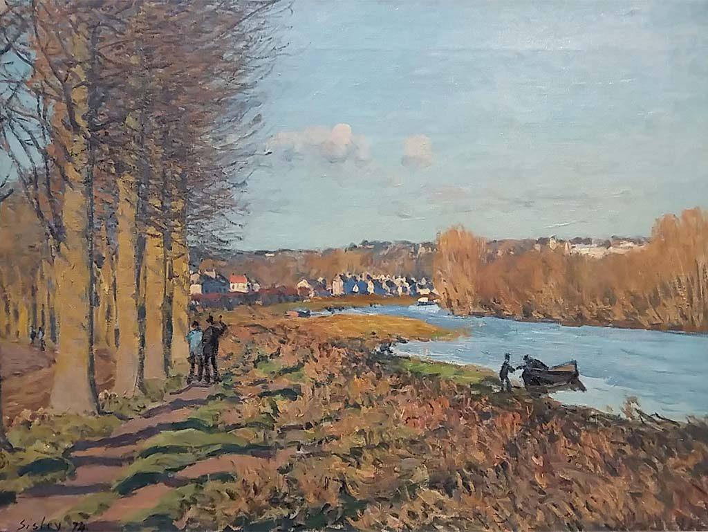Museum-Barberini-Wintermorgen-1874-Alfred-Sisley-foto-Wilma-Lankhorst