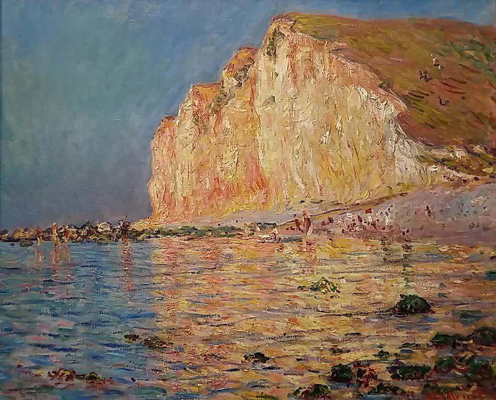 Museum Barberini Laagtij-bij-Les-Petites-Dalles-1884-Claude-Monet-foto-Wilma-Lankhorst