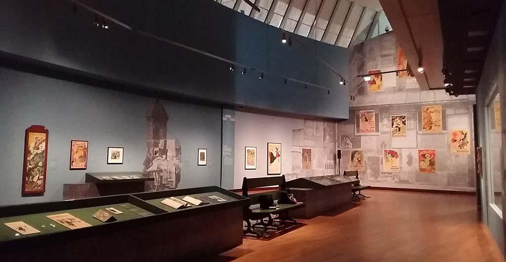 Prints-in-Parijs-oevrzicht-2e-etage-Van-Gogh-Museum-foto-Wilma-Lankhorst